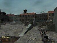 Крыша здания - не лучшая позиция для сражения со страйдером