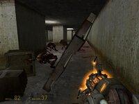 Едва мне стоило взять в руки грави-пушку, как зомби тут же бросились на утек. Трусы!