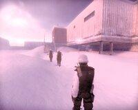 Начало игры - единственный раз, когда в Black Snow вы видете солнечный свет. Вкоре после этого главгерой с головой окунется в непроглядную тьму, а его спутники отправятся в мир иной.