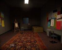 Все комнаты, в которых когда-то жили сотрудники Амалуука, посещать не обязательно, но очень увлекательно - ведь в каждой из них можно обнаружить что-то любопытное. Ну вот хотя бы кучу детских рисунков.