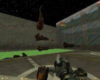 В мрачных трущобах от действия радиоактивной жижи ихтиозавры научились летать.