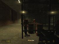 Взрывоопасные бочки здесь не просто так, в боях с зомби это главное оружие