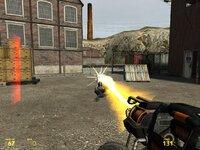 Гаусс-пушка не слишком эффективное оружие против комбайнов, но как же приятно наблюдать как комбайна отбрасывает выстрелом к ближайшей стенке!