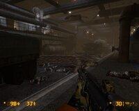 Одно из новых помещений - в первом Half-Life этого участка уровня не было.