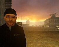 Остался в игре и туториал - в виде длинного тренировочного уровня, местами дословно цитирующего Call of Duty: Modern Warfare.
