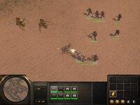 Мой отряд бежит через пустыню... Ассоциации с легендарной серией Dune здесь очень уместны.